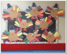 free turkey craft - thanksgiving art project