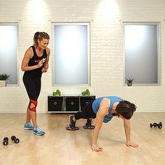 Miranda Kerr's Ballet Barre Workout