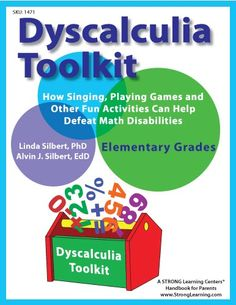 Free Dyscalculia Toolkit (Subscriber Offer) This guide includes songs, crafts, games, and more to help children improve their math skills.