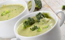 sopa cremosa de brócolis e couve-flor - 4