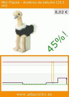 Mini Flopsie - Avestruz de peluche (20,3 cm) (Juguete). Baja 45%! Precio actual 8,02 €, el precio anterior fue de 14,68 €. https://www.adquisitio.es/mini-flopsie/avestruz-peluche-203-cm