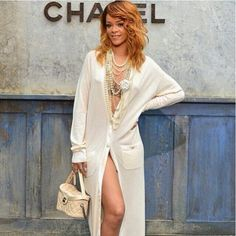 Rihanna Hits Up Paris Fashion Week