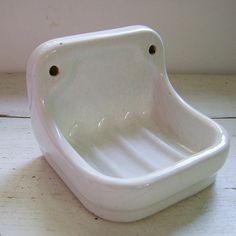 vintage soap dish $26.37 @oddandold