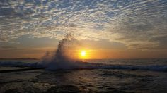 Sunrise. #deewhybeach #beach #ocean #environment #oceanandearth #rockpool #sustainability #organic  #thenaturalworld #longreef #autumm #earth #nature #cloudporn #colour #lovelife #sydney #sand #australia Re-post by Hold With Hope