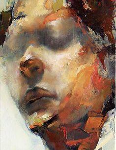 """Head of a Man"", 2011 by Paul Wruiz"