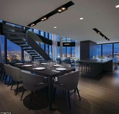 Dream House Interior, Luxury Homes Dream Houses, Dream Home Design, Modern House Design, Luxury Home Designs, Luxury Modern Homes, Mansion Interior, Luxury Rooms, Luxury Homes Interior