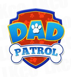 Paw Patrol Iron On Transfer - Dad Patrol