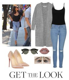 """""""Untitled #7"""" by goldenflowerboutique ❤ liked on Polyvore featuring Lime Crime, Ray-Ban, By Malene Birger, M&Co, Topshop, Christian Louboutin, GetTheLook, TrickyTrend, airportstyle and polyvoreeditorial"""