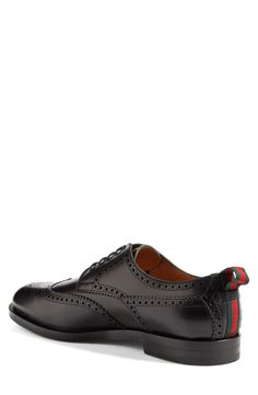 Gucci 'Strand' Wingtip Oxford. Art and Ideas Shared :  More At FOSTERGINGER @ Pinterest
