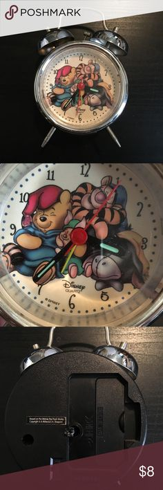 Disney Pooh and Friends Alarm Clock Adorable alarm clock. In great working condition. Disney Accessories