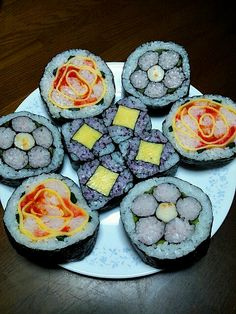 初挑戦! - 59件のもぐもぐ - 飾り巻き寿司3種類 by okoshi
