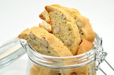 Recipe: Almond Orange Biscotti by Chef Eddy / co author of On Baking