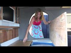 Gidget Retro Teardrop Camper 2015 - YouTube like the pull out option and some really cool features.