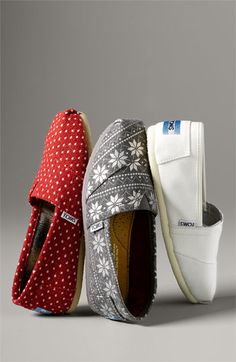 #cozy TOMS - Did you know that with every pair of shoes purchased, TOMS gives a new pair of shoes to a child in need? #loveit