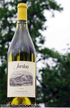 Jordan chardonnay - yum