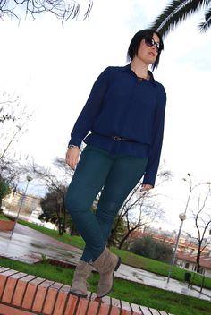 Un color clásico para un look muy casual www.eliguerrero.com