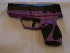 Taurus Taurus 709 Slim 9mm 6+1 mag Purple Ladies Gun... i want this !!!!!