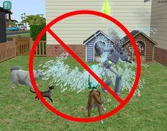 Mod The Sims - No autonomous water wiggler for Servos