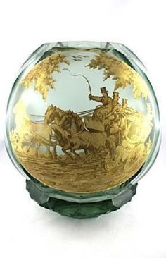 VETRO VASO J.M. Pohl Bohemia Glass, 10 Picture, Artist At Work, Czech Glass, Ants, Joseph, Glass Art, Vase, Pictures