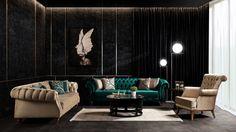 Maximum Chester Koltuk Takımı 2 - Chester Koltuk Takımları - Berke Mobilya Medusa, Conference Room, Art Deco, Couch, Curtains, Modern, Table, Furniture, Home Decor