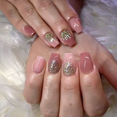Ideas of Glitter Ombre Nails ★ See more: https://naildesignsjournal.com/ideas-glitter-ombre-nails/ #nails