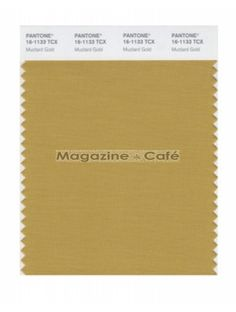 Pantone Smart 16-1133 TCX Color Swatch Card, Mustard Gold - Pantone