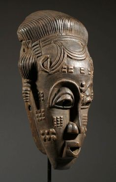 Africa | Mask from the Kulango people of north east Ivory Coast  | Wood