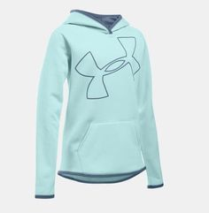 Loose: Generous, more relaxed fit. - Armour Fleece fabric finished with highly water-resistant UA Storm technology - Soft, brushed inner layer traps heat for all-day warmth and comfort - Signature Moi