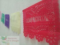 Papel Picado line of 5.5 mts  contact us : admaracas@yahoo.com  #papelpicado #banner #maracasartanddesign
