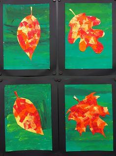 Hallo Herbst! Die Farbenpracht in diesem Jahr erscheint mir besonders schön! Passend dazu erstellte ich mit meinen 1. Klässlern bunte Herb...
