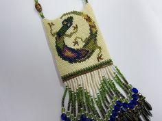 SALE Gecko Amulet Necklace by OhMyBeadingHeart on Etsy, $90.00