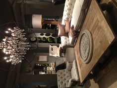 Restoration Hardware - that light is out of control awesome!!!!