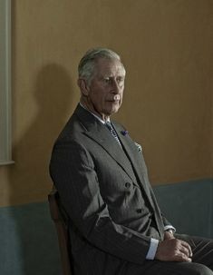 Nadav Kander Good portrait of Prince Charles