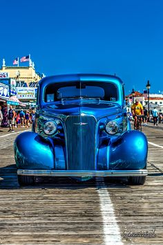 1937 Chevy Street Rod Art Print by Joshua Zaring. All prints are professionally printed, packaged, and shipped within 3 - 4 business days. Classic Chevy Trucks, Classic Cars, Chevy Classic, Rat Rods, Image Bleu, Chevy Hot Rod, Pt Cruiser, Vintage Trucks, Street Rods
