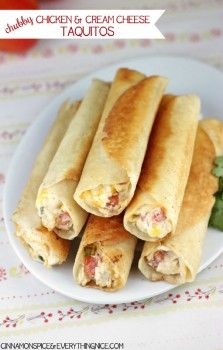 chubby chicken and cream cheese taquitos chubby chicken and cream ...
