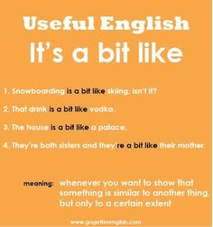 It's a bit like ...          Learn and improve your English language with our FREE Classes. Call Karen Luceti  410-443-1163  or email kluceti@chesapeake.edu to register for classes.  Eastern Shore of Maryland.  Chesapeake College Adult Education Program. www.chesapeake.edu/esl.