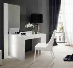 modern white dressing table – melinasabinoaprile | digsdigs