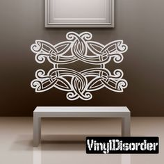 Celtic Wall Decal - Vinyl Decal - Car Decal - DC 8291