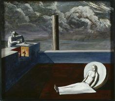 Edgar Ende (German surrealist painter, 1901-1965) - The puppeteer (Der Puppenspieler), 1931 Oil on canvas