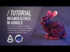 ( / ) C4D & Arnold TUTORIAL - Procedural Incandescence - YouTube