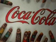 Video realizado por las alumnas de magisterio infantil, sobre el anuncio de Coca Cola, representado con dedos. Espero que les guste.
