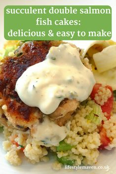 If your family is difficult to please try this easy recipe for double salmon fishcakes. They are light on the inside crispy on the outside and can be eaten hot or cold. Lunch Recipes, Gourmet Recipes, Cooking Recipes, Healthy Recipes, Easy Family Meals, Quick Easy Meals, Family Recipes, Salmon Fishcakes, Fish Cakes Recipe