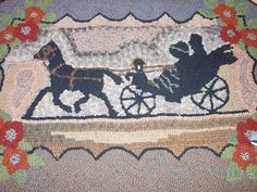 Rug created by the French Creek Ruggers.