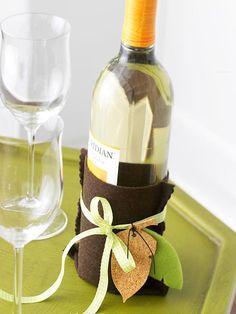 Fall Wine Bottle Sleeve