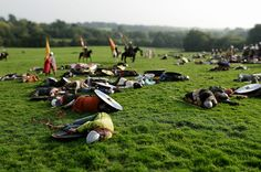 Around 350 enthusiasts participate in a re-enactment of the 1066 Battle of Hastings in Battle, UK Norman Conquest, 11th Century, Dark Ages, Middle Ages, Warfare, Vikings, Tv Series, Battle, Dolores Park