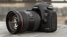 The newest Canon super-cam, just introduced today - the Canon 5D Mark III.
