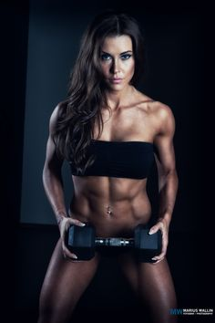 One of 5 pictures in my female fitness series. This is one of the top female fitness models in Scandinavia, Gerda.