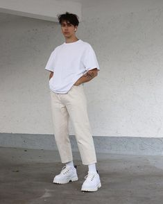 Shop this outfit – Mens fashion – Mode Mode Outfits, Retro Outfits, Vintage Outfits, Casual Outfits, Men Casual, Guy Outfits, Urban Style Outfits, Trendy Outfits For Guys, Smart Casual