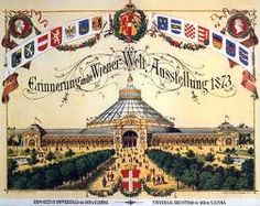 Poster of the Vienna World's Fair, Carpeaux, Dwarf Trees, Stone Lantern, Heart Of Europe, Architectural Antiques, Beautiful Dream, Japanese House, World's Fair, The Visitors
