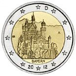 2 euro Neuschwanstein - 2012 - Series: Commemorative 2 euro coins - Germany